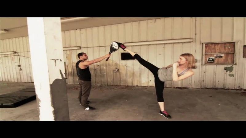 1 girl vs 3 guys ENSO Stunts