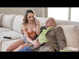 Sera Ryder and Alona Bloom - Grandpas Huge Problem [All Sex, Hardcore, Blowjob, Gonzo]