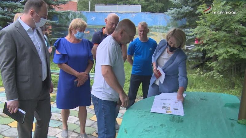 Юлия Купецкая обсудила решение проблем на мемориале Станки и улице Центральной