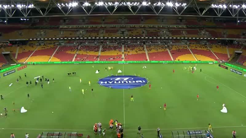 Чемпионат Австралии 2019 20 18 й тур Брисбен Роар Аделаида Юнайтед