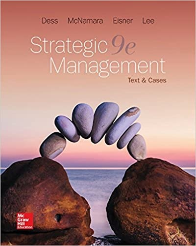 Strategic Management Text and Cases 9th Edition