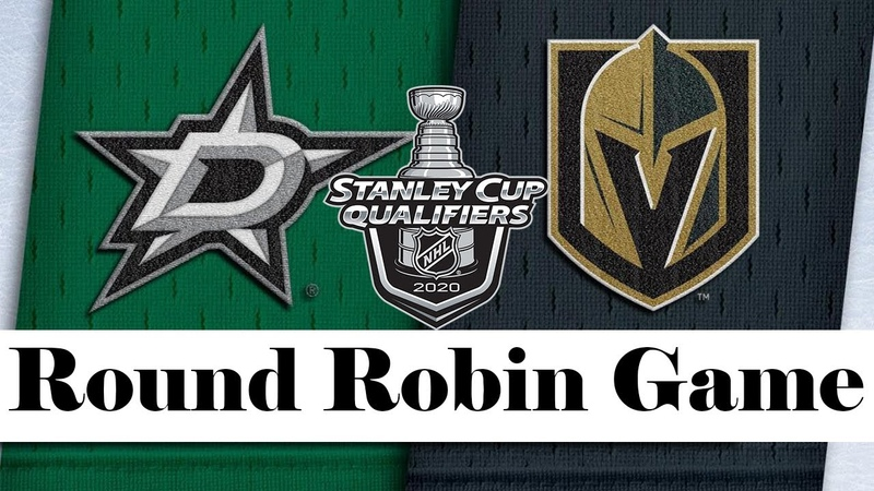Dallas Stars vs Vegas Golden Knights Aug 03 2020 Round Robin Game NHL 2019 20 Обзор матча