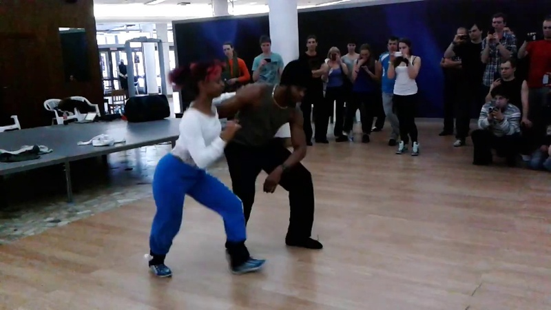 Terry Salsalianza Cecile Salsa cubana workshop Hot Winter in Siberia salsa social dancing