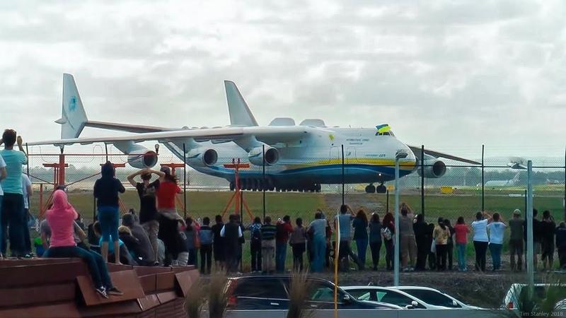 Antonov An-225 Mriya [WORLD'S BIGGEST PLANE] First Visit to Australia - Perth, WA