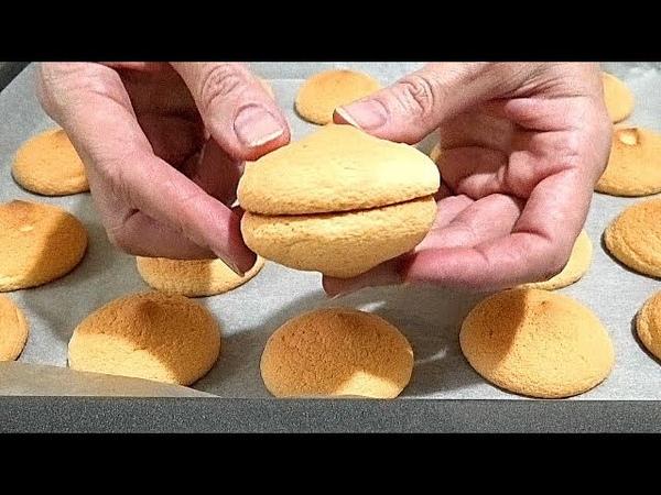 Как правильно приготовить БИСКВИТ - БУШЕ Biscuit Boucher