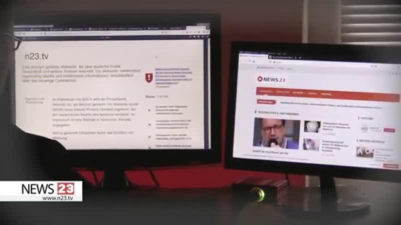 """NewsGuard verbreitet """"FAKE NEWS über NEWS 23"""