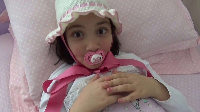 H.Rüya Bebekliğe Özenirse!Bebek SkeciKomik videoParodi @Ayşegül Dayan