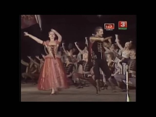 Polish dances from A Life for a Tsar Opera and Ballet theater of Belarus