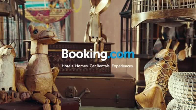 Музыка из рекламы Booking.com (2019)