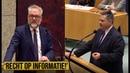 (33) Jansen(PVV) v Renkema(GL) 'Onze burgers hadden gewoon recht op die informatie!' | Politiek - YouTube