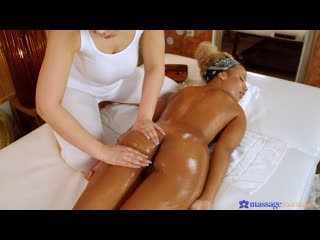 [ / ] Sofia Lee, Romy Indy - Petite entrepreneur needs to relax [ г., Lesbian, 1080p]