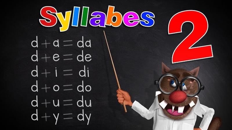 Foufou Les Syllabes pour les enfants Learn Syllables for kids Serie02 4K