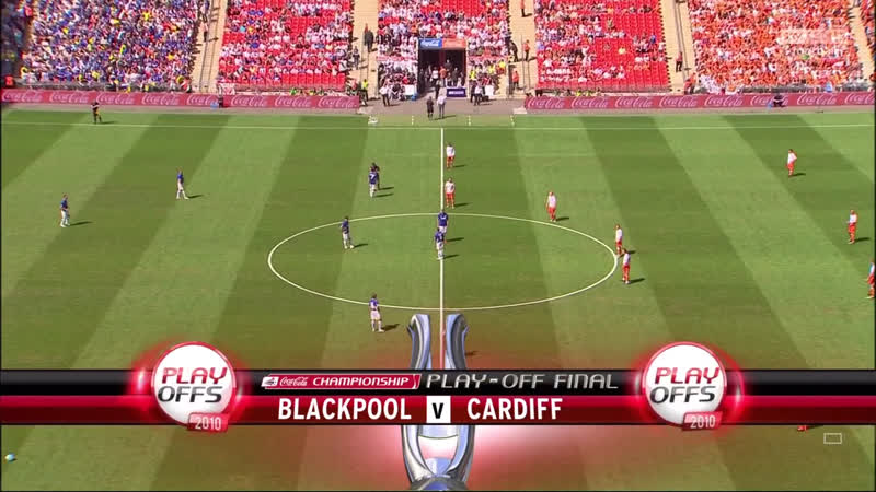 Финал п-офф Чемпионшипа-2010 / Блэкпул - Кардифф [HD]