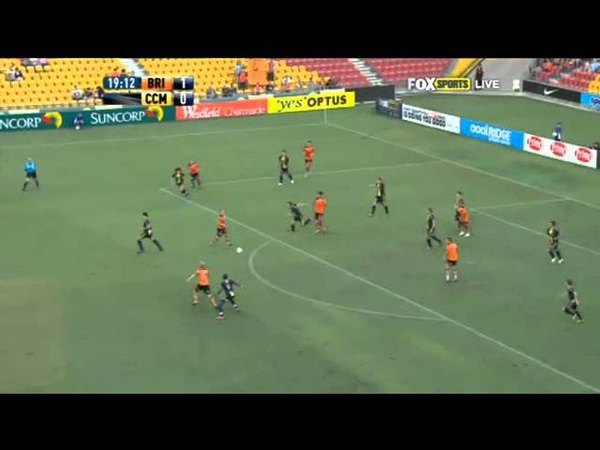 A League Brisbane Roar vs Central Coast Mariners Major Semi Final 1 2011 2012