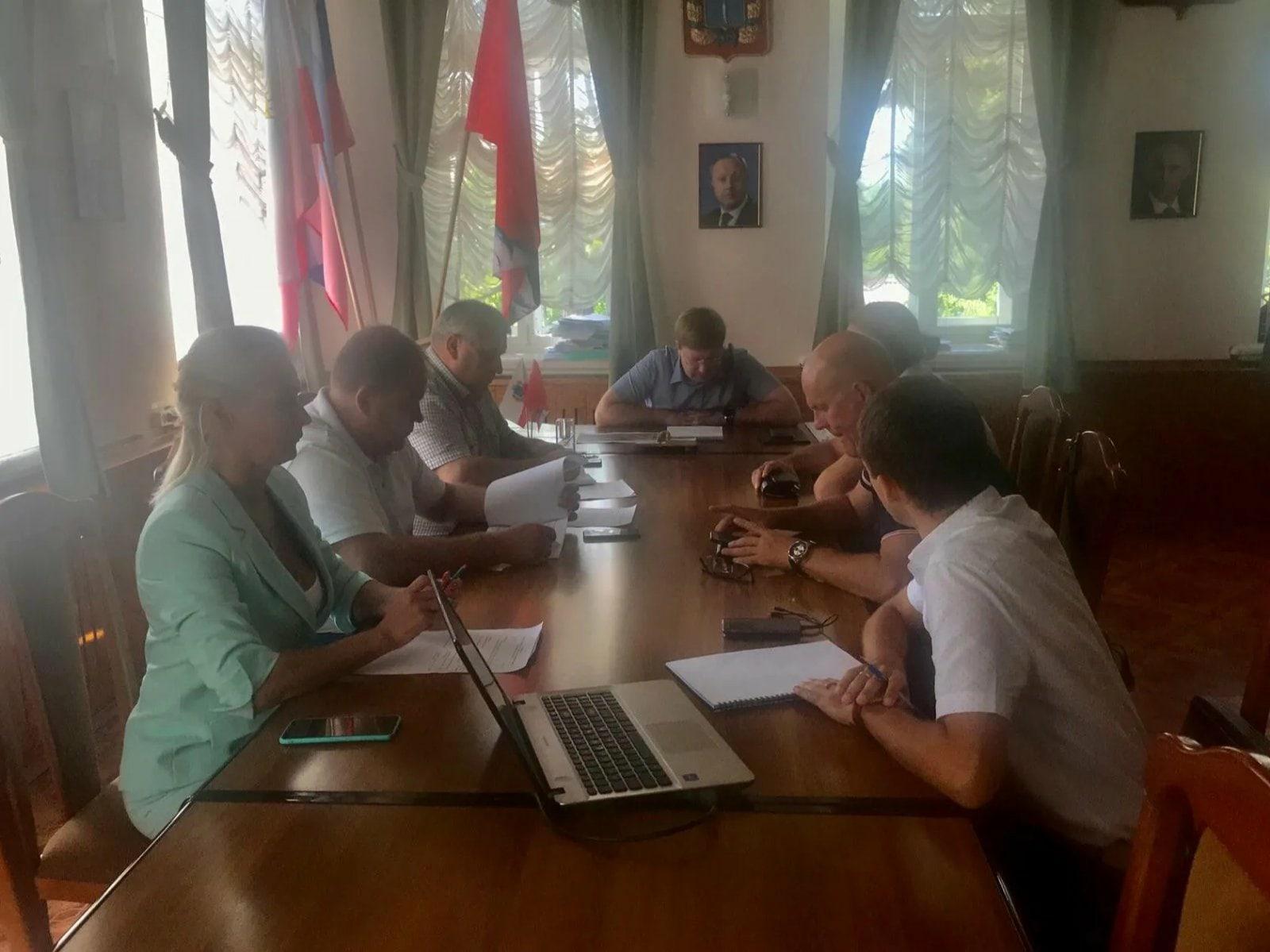 В администрации района прошли переговоры с потенциальными инвесторами, заинтересованными в организации производств в рамках условий ТОСЭР «Петровск»