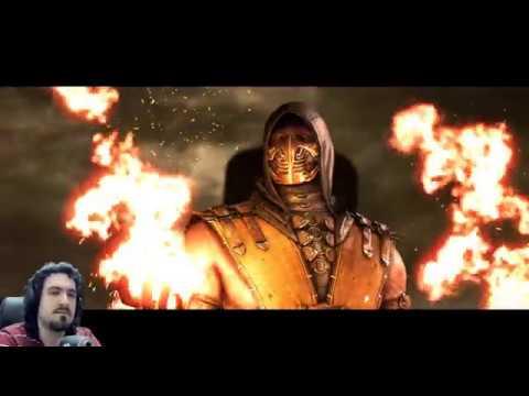 Играю за Горо в Мортал Комбат Х Mortal Kombat X goro