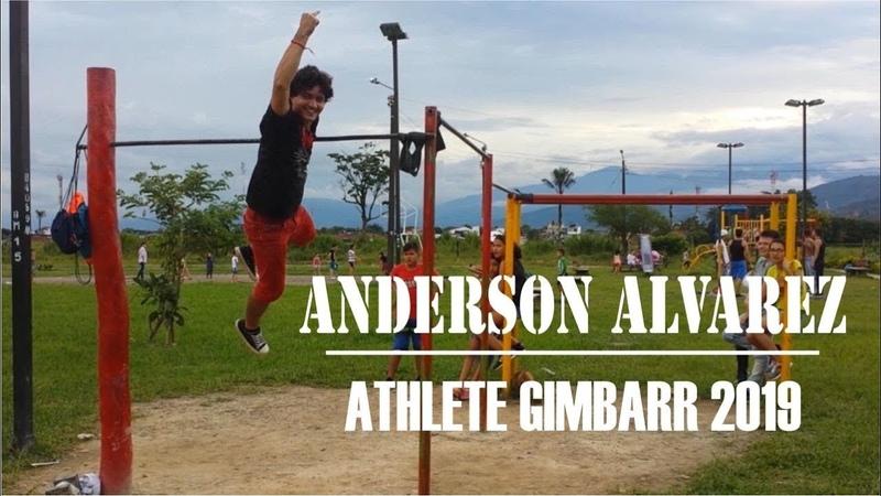 Anderson Alvarez Athlete Gimbarr 2019