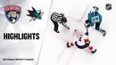 Florida Panthers vs San Jose Sharks | Feb.17, 2020 | Game Highlights | NHL 2019 20 | Обзор матча