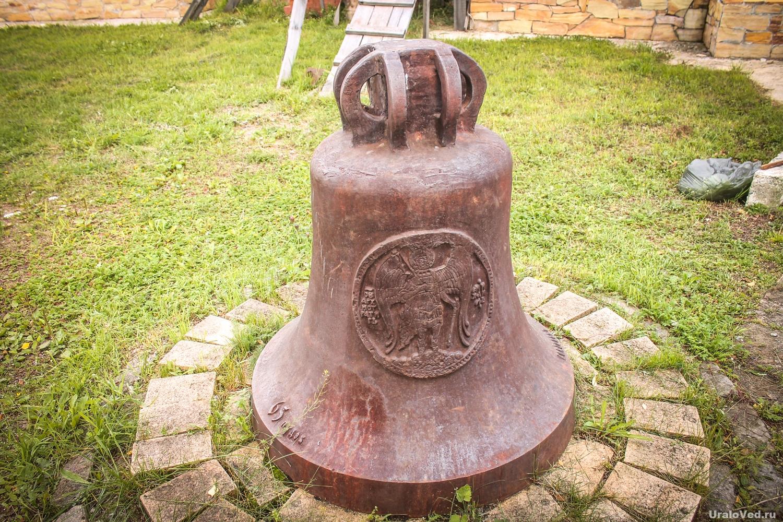 Старинный колокол в Усть-Салде