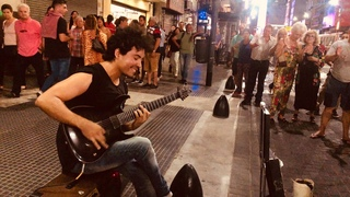 Dire Straits - Sultans Of Swing - Electric Guitar version - On the Street - Cover