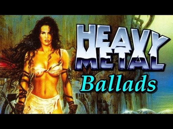 Classic Heavy Metal Ballads 80s 90's Playlist
