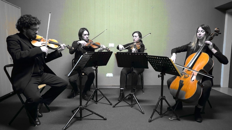 Wedding string quartet Tuscany Italy Obladi Oblada The Beatles