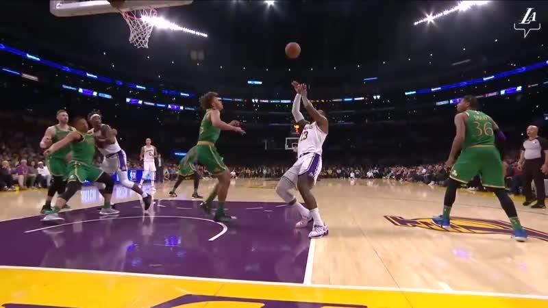 HIGHLIGHTS | LeBron James (29 pts, 8 reb, 9 ast) vs. Boston Celtics