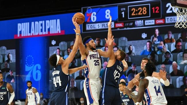 Контрольный матч НБА   Филадельфия 76 — Даллас Маверикс 29.07.2020