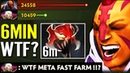 6min Madness Mask AM WTF!! 100 New Meta Crazy Fast Farm Anti Mage Carry Build Guide Dota 2 Pro