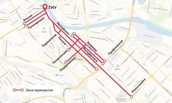 Как перекроют дороги в «День Победы»? В День Победы, 9 мая, в Тюмени будет...