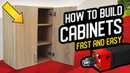 How to build cabinets fast and easy - SPARK Drill