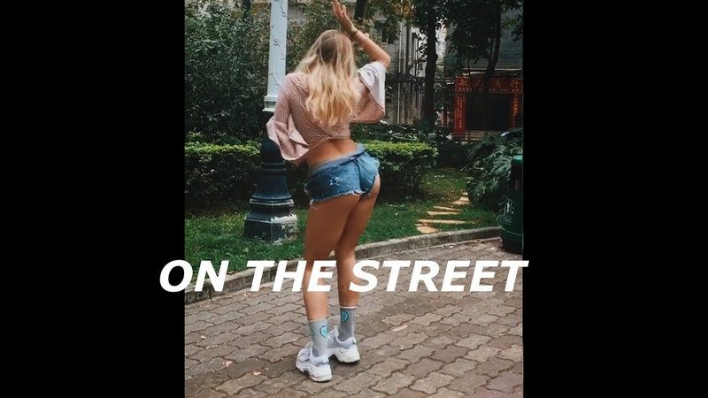 Nicki Jam J Balvin X Latino dance sexy dance on the street