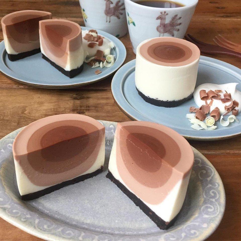 Как вам такой тортик? Попробовали бы? Фото: tamameottooo (instagram)
