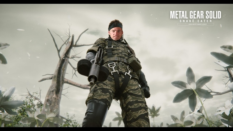 Metal Gear Solid 3 Snake Eater (Right ♂ Version)