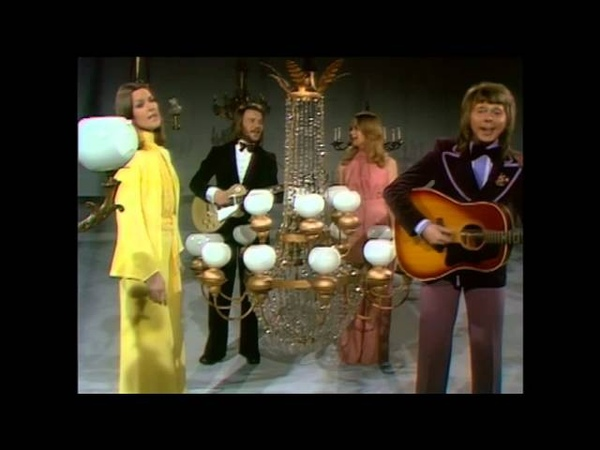 ABBA Ring Ring 1973 without Agnetha Fältskog
