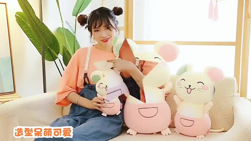 28 60cm hot new cute mouse plush toy stuffed soft animal mouse doll pillow kawaii birthday gift for children