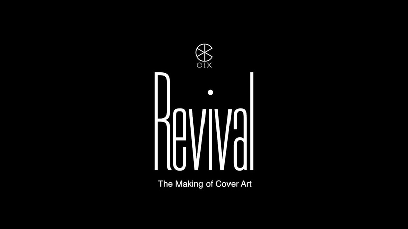 CIX 'Revival' The Making of 1 Cover Art