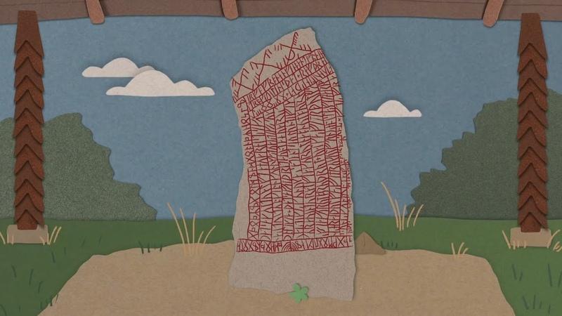 Тайные послания викингов на рунных камнях драконы проклятья и заклинания TED Ed