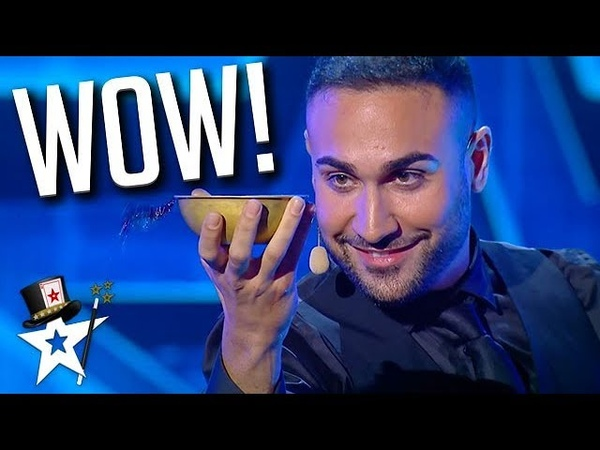 HOW DOES HE DO THAT Water Magician on Romania's Got Talent Magicians Got Talent