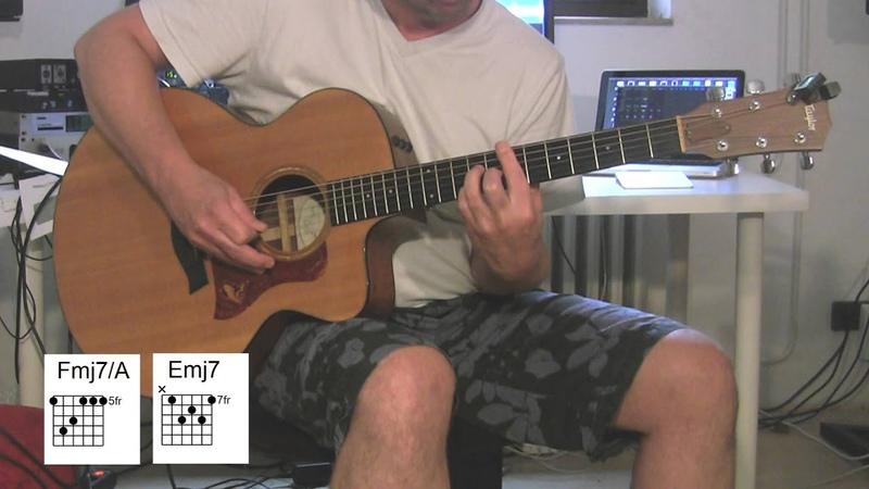 American Boy Acoustic Guitar, original vocals, chords, Estelle, Kanye West