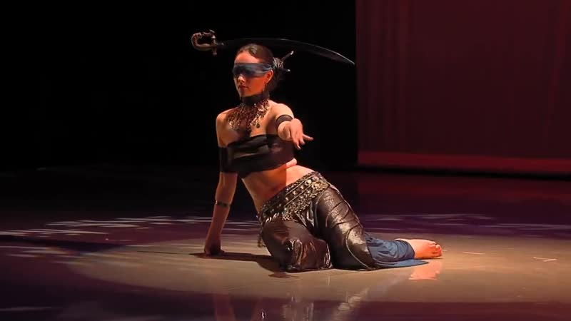 Irina Akulenko Justice from Tarot Fantasy Belly Dance DVD