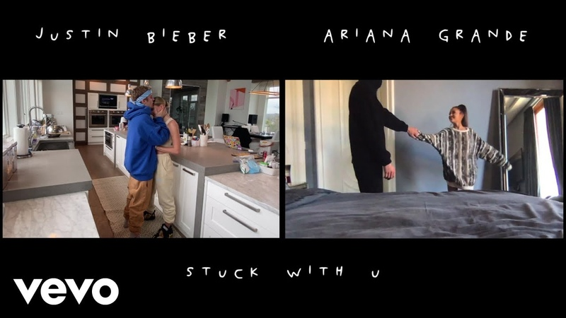 Ariana Grande Justin Bieber - Stuck with U (Official Video)