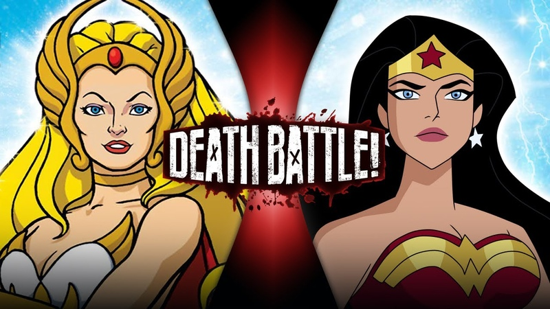 She Ra VS Wonder Woman He Man VS DC DEATH BATTLE