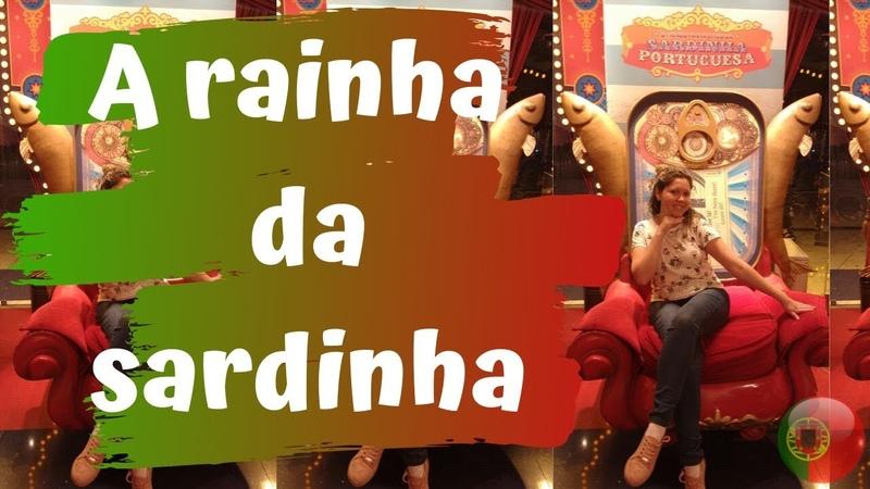 A Princesa virou a RAINHA da Sardinha Tour na loja famosa de sardinha da EUROPA