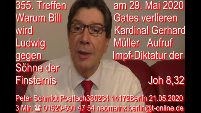 355. Treffen Bill Gates Verliert Kardinal Gerhard Ludwig Müller Aufruf Kennedy