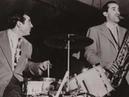 Gene Krupa Trio 1/28/1946 Stompin' At The Savoy - JATP Los Angeles - Charlie Ventura, T. Napoleon