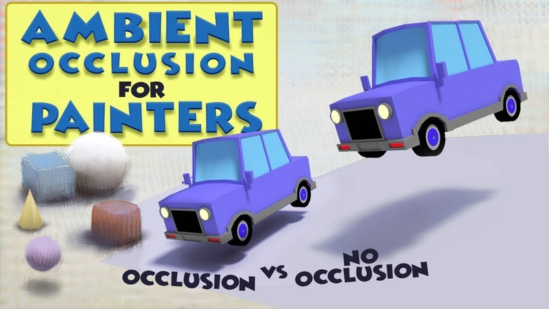 Ambient Occlusion and Ambient Light for Painters