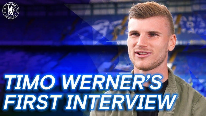 Timo Werner's First Interview Welcome To Chelsea Exclusive