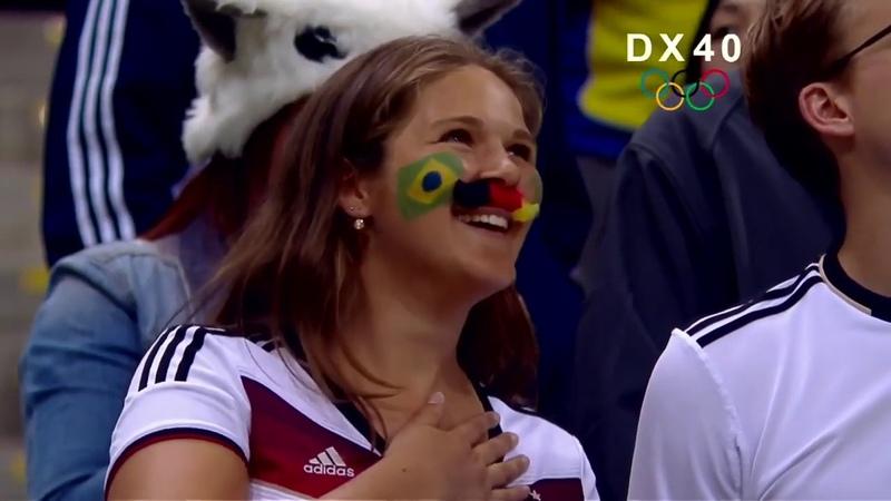 Brasilien gegen Deutschland. Handball O S 2016