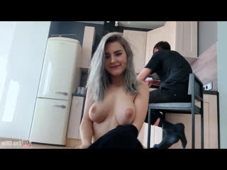 Eva Elfie  Fucking cuckold's girlfriend to cum on her slutty face